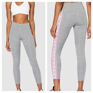 NEW Nike Dri-Fit L One Crop Graphic Sides Leggings